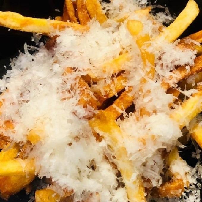 French Fries with Pecorino & Truffle Oil
