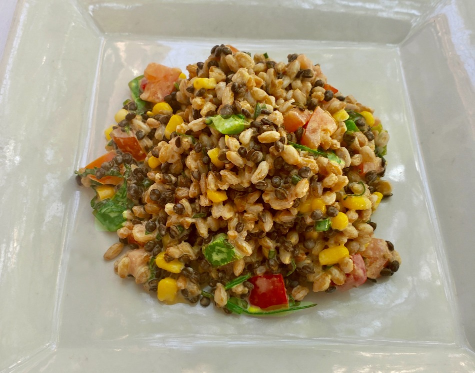 Farro & Lentil Salad