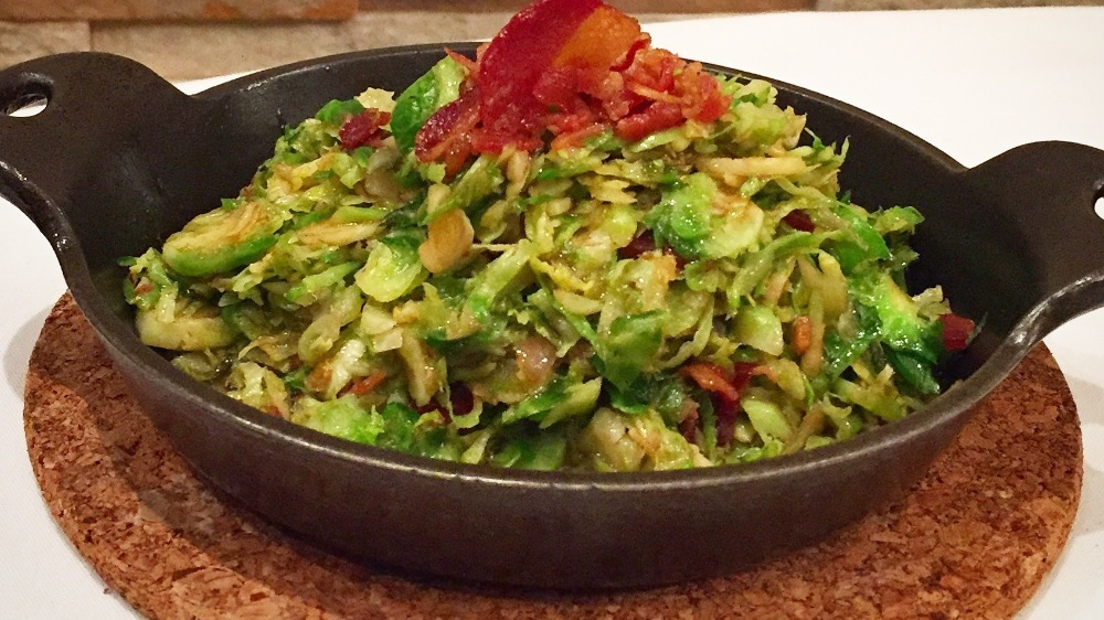 Shaved Brussels Sprouts (Side)