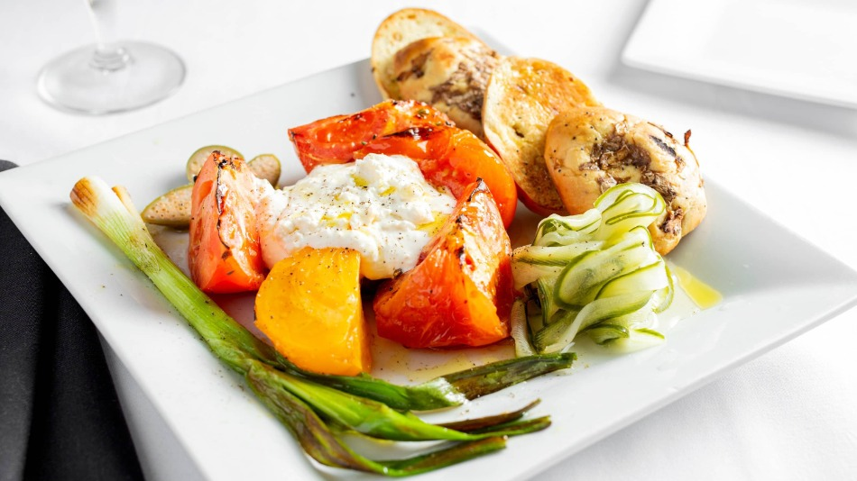 The Grilled Greek Salad